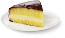 Boston Cream - Slice