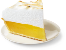 Lemon Meringue - Slice