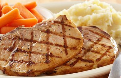 Charbroiled Pork Chops Jim S Restaurants